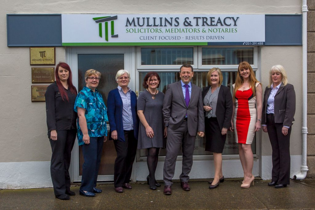 The team at Mullins Treacy Solicitors Tramore Waterford